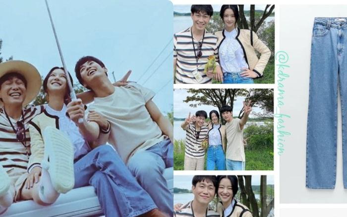Item bình dân duy nhất của  Seo Ye Ji suốt cả bộ phim: Kiểu quần jeans hack chân dài cực đỉnh mà chị em nào cũng nên có