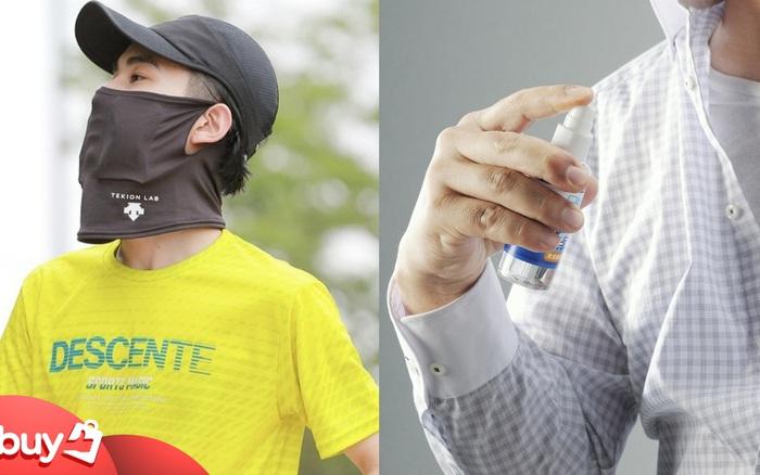Mùa hè đeo khẩu trang bí bách, người Nhật nghĩ ra loạt sản phẩm làm mát tức thì, giảm tới 12 độ C hay đáo để - xổ số ngày 31102019