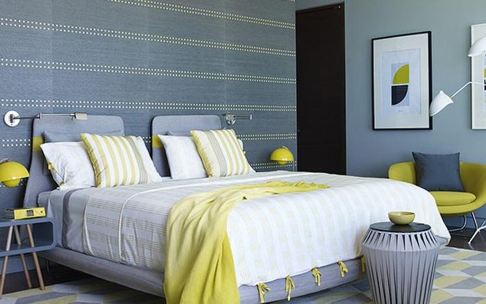 Chuẩn bị đón mùa thu tới, hãy lựa chọn sắc vàng cho phòng ngủ thêm phần tươi sáng