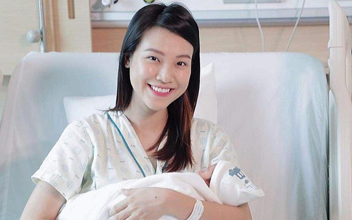 Hoàng Oanh lần đầu tiên công khai khoe con trai đầu lòng, tiết lộ quá trình