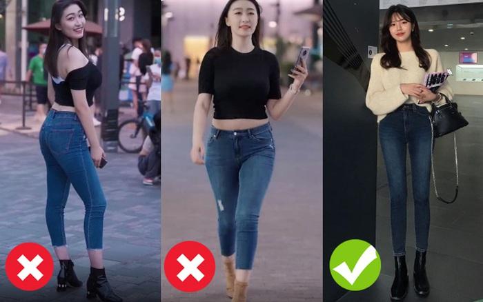 Là cao gót nhưng nếu hợp cùng jeans như thế này thì bạn chỉ có