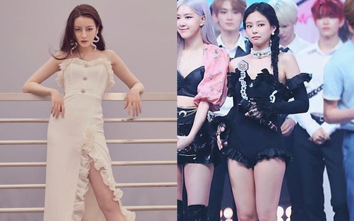Cuộc chiến giữa Jennie – Địch Lệ Nhiệt Ba khi diện váy áo na ná: Người đẹp thoát tục, người sexy khó cưỡng