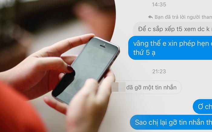 """Vụ """"cô giáo Văn hot nhất nhì Hà Nội"""": 5 lần 7 lượt cô kêu bận không thể gặp mặt báo chí, vừa đồng ý xong lại thay đổi gỡ tin nhắn nhanh như chớp"""