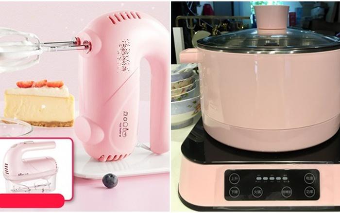 Điểm nhanh các món đồ dùng nhà bếp tiện ích cực xinh theo gam hồng khiến chị em chỉ muốn rút ví mua ngay không cần suy nghĩ