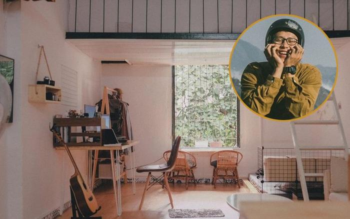 Mê căn tập thể cũ ở Kim Liên chỉ vì 3 cái cửa, chàng trai Hà Nội quyết thuê lại rồi đầu tư gần 17 triệu cải tạo đẹp như trong tạp chí