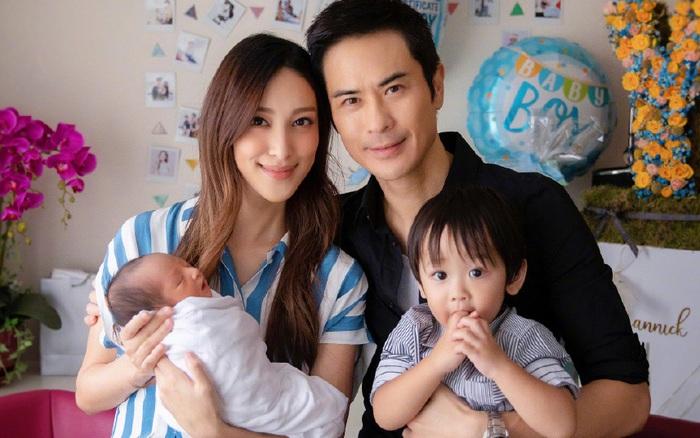Vợ chồng Trịnh Gia Dĩnh - Trần Khải Lâm đón con trai thứ 2 chào đời