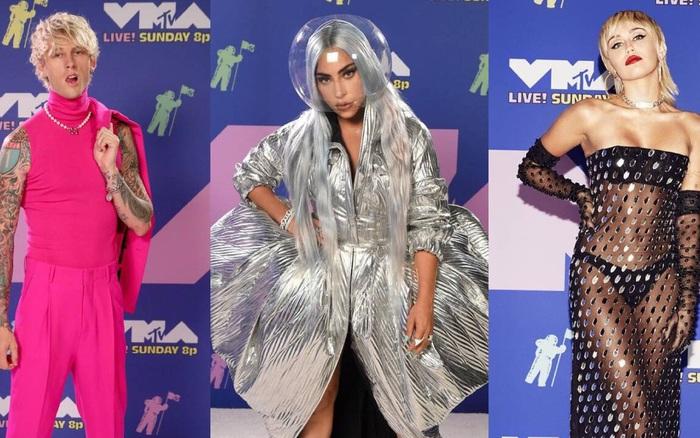 Thảm đỏ biệt lập lạ đời nhất VMAs: Lady Gaga chiếm