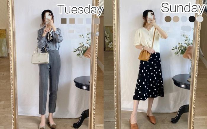 Chuẩn bị sẵn đồ cho cả tuần đi làm, cách đơn giản giúp bạn không đau đầu nghĩ xem mặc gì mỗi sáng