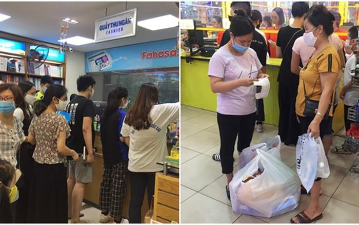 Cập nhật không khí mua sắm đầu năm học tại 5 nhà sách lớn ở Hà Nội: Nơi thưa thớt vắng vẻ, nơi xếp hàng đông đúc không lối chen chân