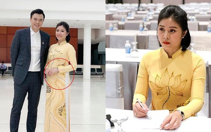 """MC Hoàng Linh tiết lộ sự thật """"giời ơi đất hỡi"""" khiến cả mạng xã hội đồn thổi đang mang thai sau khi tái hôn với đồng nghiệp VTV"""