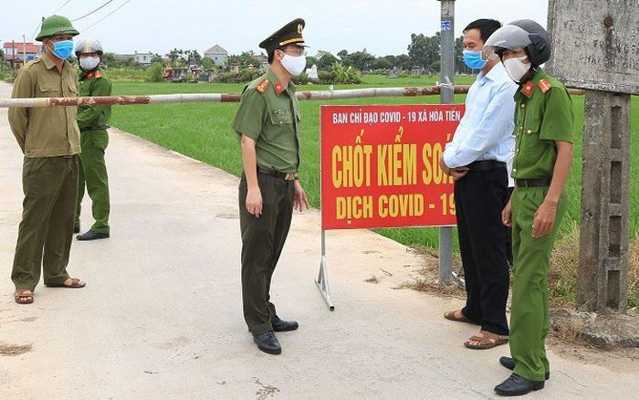 Phong toả 1 thôn ở Thái Bình vì COVID- 19, học sinh thi tốt nghiệp THPT như thế nào?