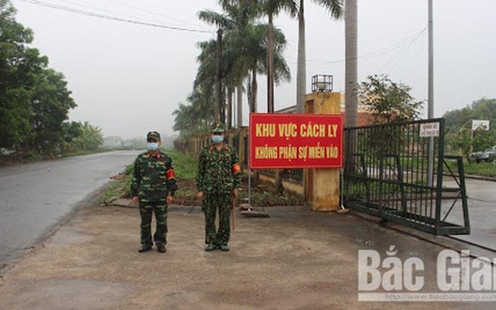 Bắc Giang phong tỏa nhiều thôn sau khi xuất hiện 2 ca nghi mắc COVID-19