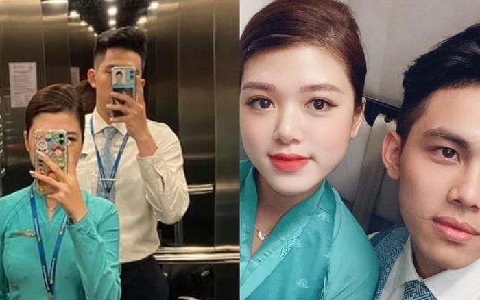 Cặp tiếp viên hàng không trai đẹp gái xinh kể chuyện tình cảm siêu lãng mạn, yêu đồng nghiệp cũng thú vị lắm đấy