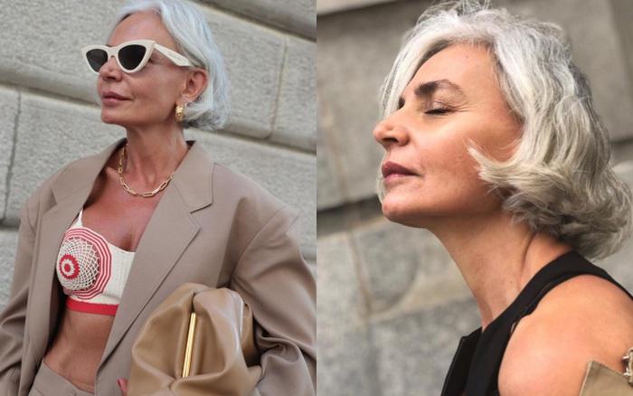 Fashionista 56 tuổi chia sẻ bước dưỡng da, chăm tóc mỗi ngày:
