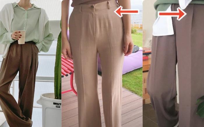 Quần vải ống rộng: Hoá ra chi tiết chiết ly, ngoài khả năng hack chân dài còn có một nhiệm vụ đặc biệt khác nữa