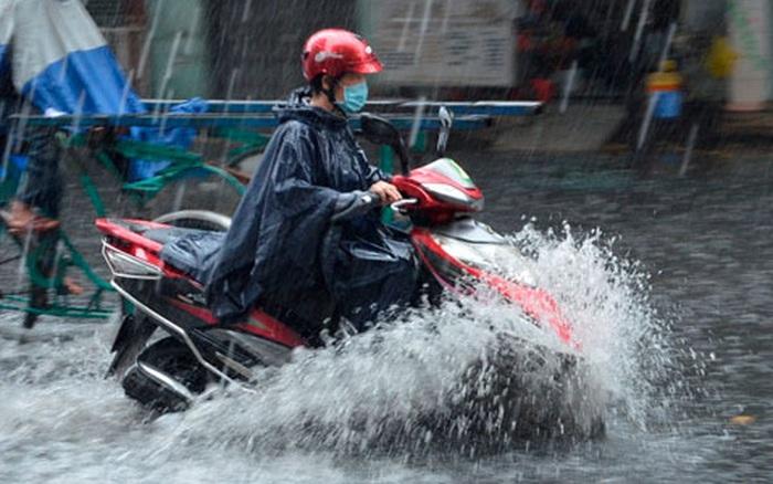 Chiều tối nay Bắc Bộ bước vào đợt mưa lớn diện rộng kéo dài nhiều ngày