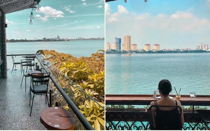 4 quán cafe bình dân view toàn cảnh hồ Tây siêu đẹp dành cho các gia đình và hội chị em đi chơi