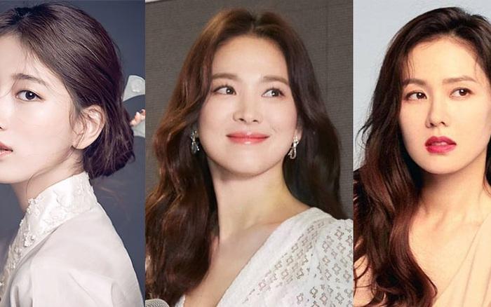 BXH mỹ nhân Hàn Quốc đẹp nhất trong mắt người nước ngoài: Lâu lắm rồi Song Hye Kyo mới chính thức vượt mặt Son Ye Jin