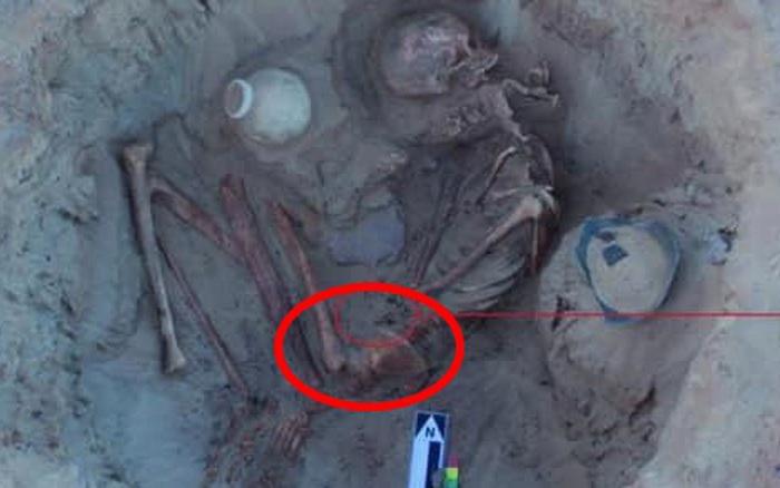 Phát hiện hài cốt người phụ nữ 3.700 năm tuổi, nhà khảo cổ choáng váng khi thấy