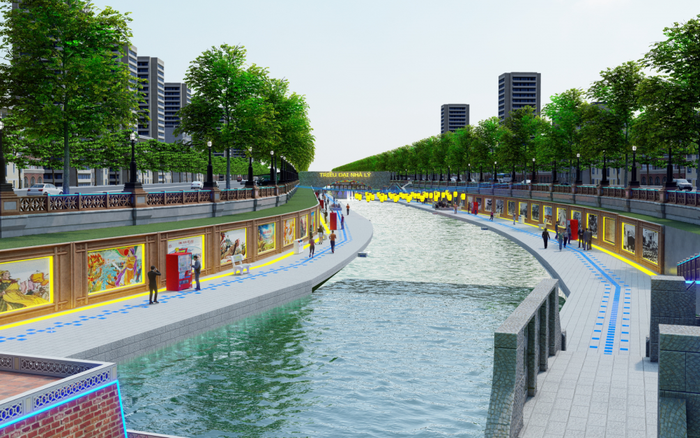 Đề xuất phương án biến sông Tô Lịch trở thành