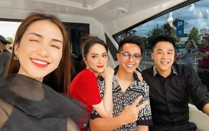Vừa công khai chủ quyền trong hình chụp chung với Hòa Minzy, Hương Giang lập tức tuyên bố tương lai chuyện tình với bạn trai CEO