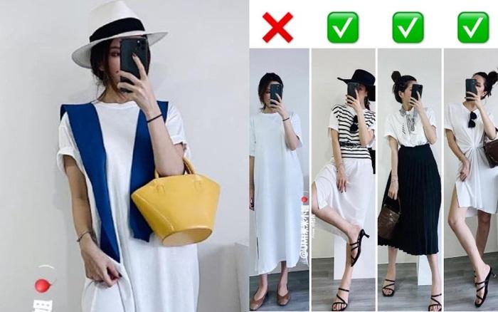 Từ chiếc váy trắng đơn điệu, nàng công sở vẫn có thể mặc đi làm nhờ 3 cách lên đồ vừa trẻ đẹp lại chẳng chê vào đâu được