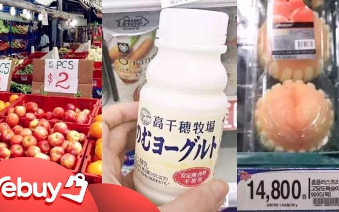 Cùng xem cầm 300 nghìn VNĐ đi chợ ở 3 nước khác nhau tại châu Á, bạn có thể mua được gì?