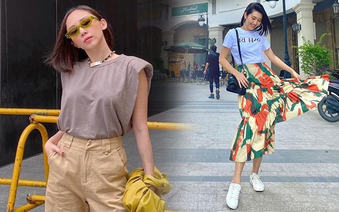 11 set đồ vừa đẹp vừa dễ mặc từ sao Việt mà bạn có thể áp dụng ngay cho style đi chơi ngày nghỉ lễ