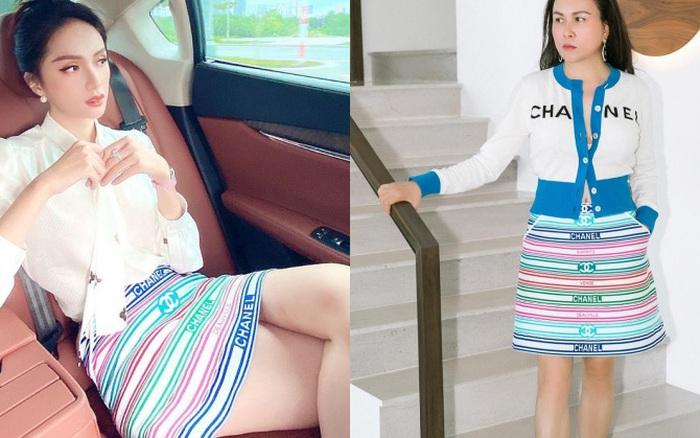 Hương Giang đụng hàng Phượng Chanel và cả dàn sao Kpop: Nhìn qua là biết ai