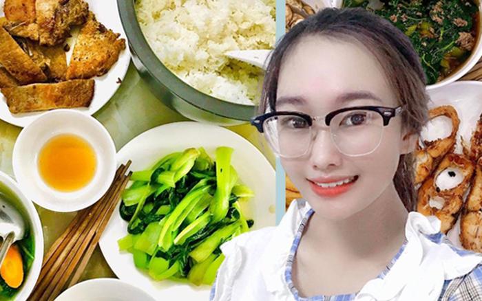 Dù bận rộn cô sinh viên 20 tuổi vẫn tự tay nấu từng bữa cơm cho gia đình, chi phí chỉ 20k/người khiến bà nội trợ đảm cũng phải gật gù khen ngợi