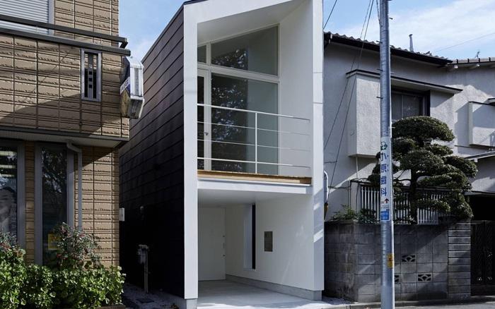 Căn nhà 27,6m² với thiết kế mái chéo độc đáo của vợ chồng trẻ ở thủ đô