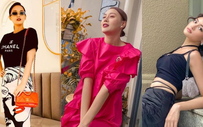Street style dàn sao nữ vũ trụ VTV:  Linh và Tuệ Lâm cùng đồng điệu khoản chọn váy, Phương Oanh ăn vận kín đáo sau khi chia tay bạn trai
