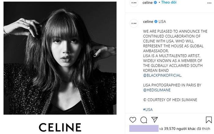 Lisa chính thức thành đại sứ toàn cầu của Celine, đáng nói là bức ảnh định mệnh đăng đúng ngày này 2 năm trước