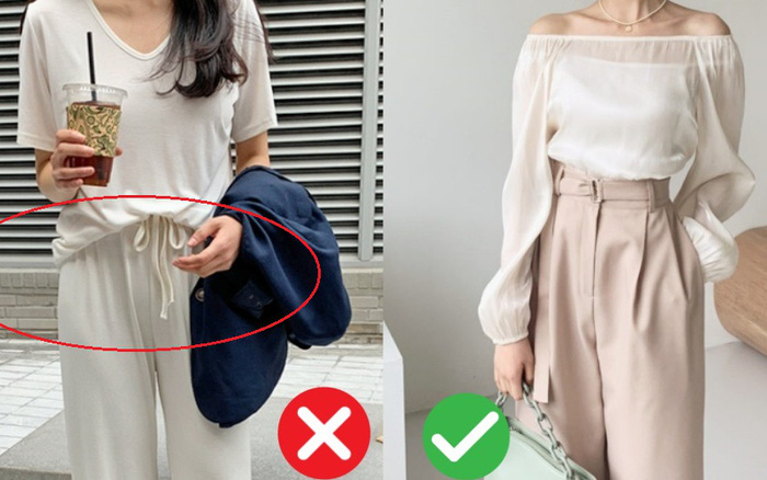 Kiểu quần ống rộng chị em cần tránh tuyệt đối khi đi làm nếu không muốn đồng nghiệp ngứa mắt, sếp nhìn khó chịu