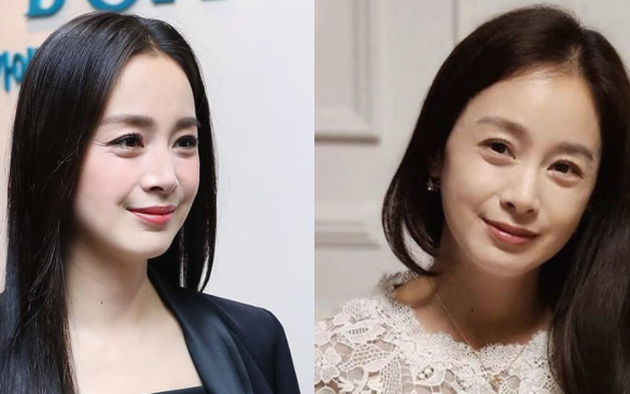 Nhan sắc thật sự ở tuổi 40 của Kim Tae Hee bị