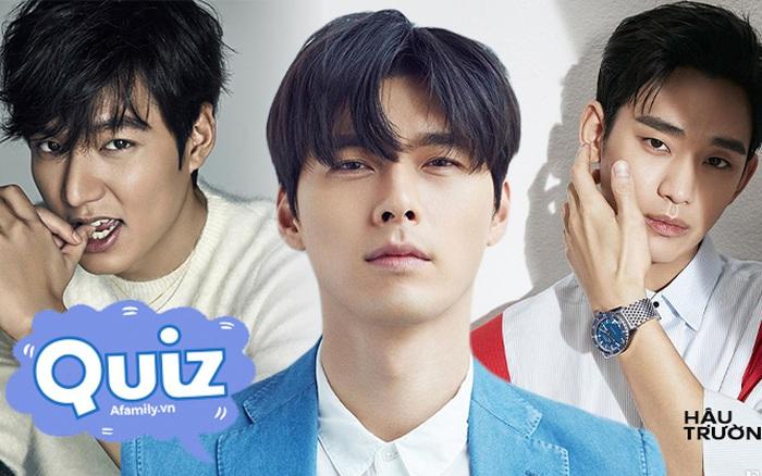 Soi những chi tiết nhỏ để đoán tên các mỹ nam đình đám Hàn Quốc, liệu bạn có phải là fan của Hyun Bin, Jang Dong Gun?