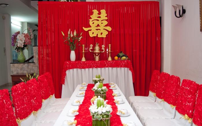 Cách trang trí bàn thờ gia tiên ngày cưới trên các vùng miền