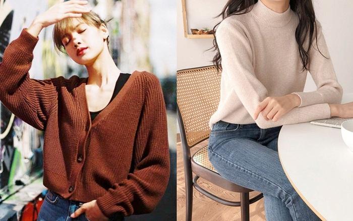 Chỉ là 2 dáng áo len cơ bản nhưng lại có sức mạnh cải thiện style ghê gớm, có đủ thì bạn khỏi lo mỗi sáng mặc gì