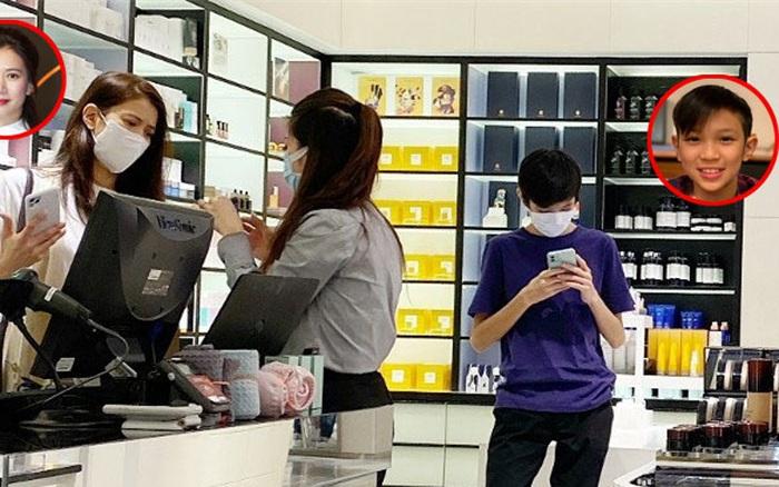 Quý tử nhà cựu Hoa hậu Hong Kong Viên Vịnh Nghi gây sốt nhờ chiều cao khủng, nhưng thân hình lại quá gầy gò