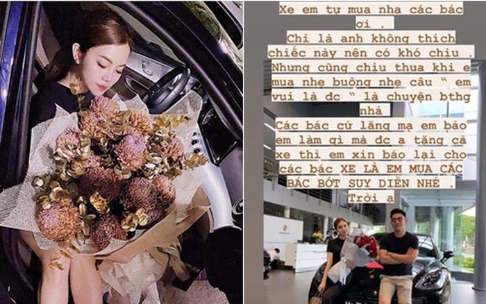 Bạn gái vị CEO 21 tuổi lên tiếng về thông tin được bạn trai mua siêu xe 5 tỷ làm quà, sự thật thay đổi 360 độ về cô người yêu trẻ mà chịu chơi! - ceo tống đông khuê