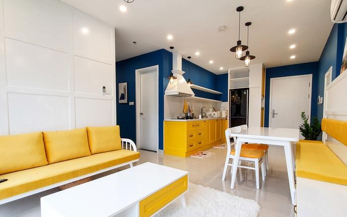 Căn hộ 75m² tràn đầy sức sống với cách phối màu vàng - xanh tinh tế có chi phí hoàn thiện 270 triệu đồng ở Hà Nội