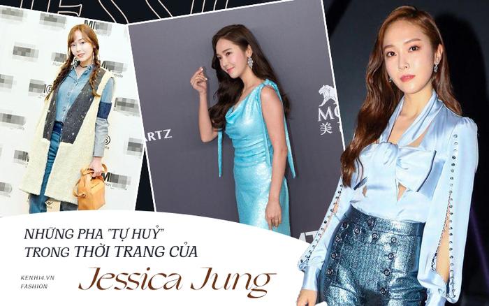 9 lần gây sự với SNSD đã là gì, Jessica Jung còn nhiều lần tự cà khịa danh hiệu