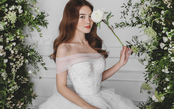 Ninh Dương Lan Ngọc diện váy cô dâu đẹp ngỡ ngàng, khoe visual đỉnh khiến dân tình tròn mắt