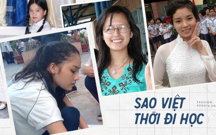 """Sao Việt thời đi học: Người điệu sớm, người xinh không cần son phấn, người """"chân phương"""" ngỡ ngàng"""