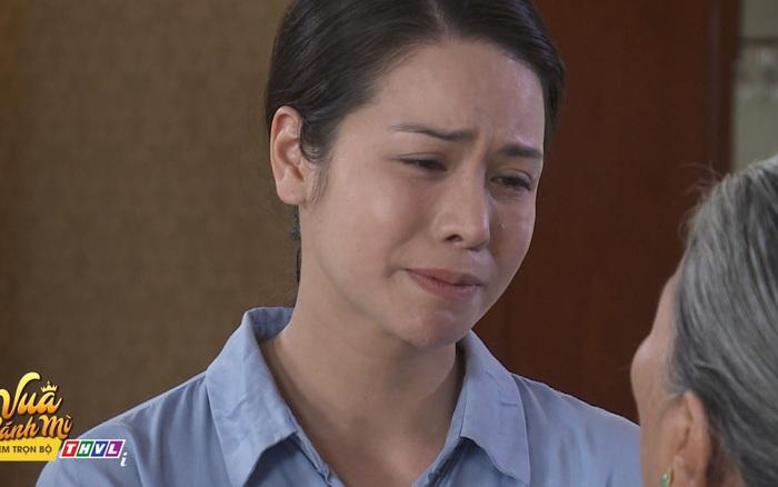 Vua bánh mì: Trao con cho cha ruột, Dung (Nhật Kim Anh) khóc tức tưởi bỏ đi