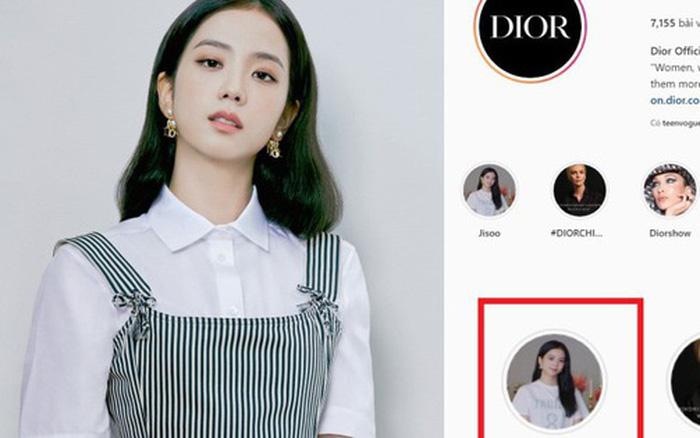 Xịn nhất BLACKPINK: Jisoo được đối xử đặc biệt trên Instagram của Dior theo cách chưa thành viên nào có được