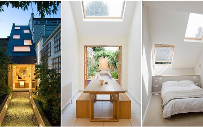 Ngôi nhà có mặt tiền siêu hẹp chỉ 2,3 mét vẫn tạo được không gian sống mơ ước cho gia đình trẻ