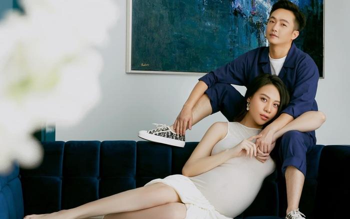 Loạt ảnh mới được tiết lộ của Đàm Thu Trang trước ngày lâm bồn, nhan sắc mẹ bầu đẹp rạng rỡ khiến ai cũng xuýt xoa