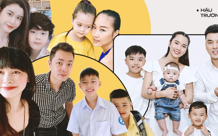Sao Việt trò chuyện ngày con vào năm học mới, đáng chú ý là phản ứng của các nhóc tỳ khi được hỏi: