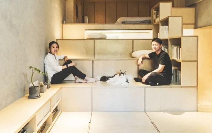 Căn nhà đổ nát rộng 40m² biến thành không gian sống tiện nghi và thư giãn dành cho vợ chồng trẻ
